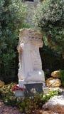 Monumento do papa John Paul II no local da peregrinação de nossa senhora de Líbano, Harissa, Líbano fotos de stock royalty free
