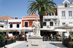 Monumento do poeta português LuÃs de Camões Foto de Stock Royalty Free