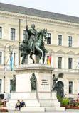 Monumento do rei Ludwig mim Imagens de Stock Royalty Free