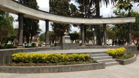 Monumento do rez do ¡ de Benito Juà imagens de stock royalty free