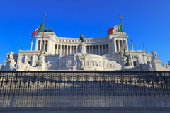 Monumento do vencedor Emmanuel II, Roma, Italy. Imagem de Stock