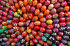 Monumento dos ovos de Easter Fotos de Stock