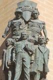Monumento dos trabalhadores, Valletta Malta Fotos de Stock Royalty Free