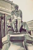 Monumento a Dostoevsky em Moscou, Rússia Fotografia de Stock