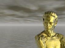 Monumento dourado Fotos de Stock