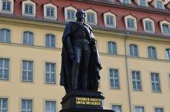 Monumento a Dresda Fotografie Stock