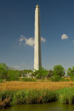 Monumento e pântano de San Jacinto Fotografia de Stock