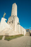 Monumento ein La bandera Stockfotografie