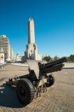 Monumento ein La bandera Stockbild