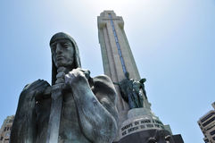 Monumento ein los Caidos in Tenerife, Spanien Lizenzfreie Stockfotografie