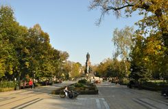 Monumento Ekaterina II Fotos de Stock Royalty Free