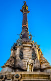 Monumento em Barcelona Fotos de Stock Royalty Free