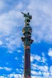 Monumento em Barcelona Foto de Stock