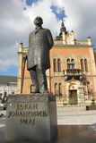 Monumento em Novi Sad Foto de Stock Royalty Free