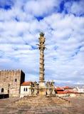 Monumento em Porto, Portugal foto de stock