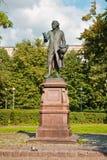 Monumento a Emmanuel Kant. Fotos de archivo libres de regalías