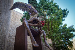 Monumento en Barcelona España Imagenes de archivo