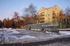 Monumento en el callejón Imagen de archivo