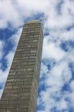 Monumento en el cementerio de Alleghany Imágenes de archivo libres de regalías