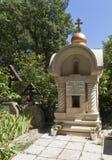 Monumento en el cementerio viejo en Gelendzhik Imagen de archivo