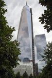 9/11 monumento en el World Trade Center, punto cero Imagen de archivo