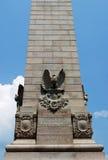 Monumento en Jamestown Fotos de archivo libres de regalías