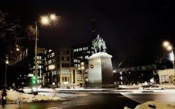 Monumento en la luz de la tarde Imagen de archivo