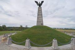 Monumento en la reduda de Schewardino Imagen de archivo libre de regalías