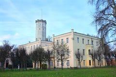 Monumento en Myslakowice Fotografía de archivo libre de regalías