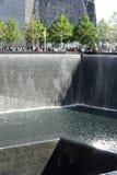 9/11 monumento en Nueva York Imagenes de archivo