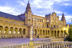 Monumento en Sevilla Foto de archivo libre de regalías