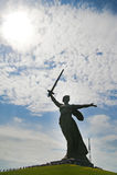Monumento en Stalingrad Imagen de archivo libre de regalías