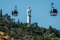 Monumento en Tbilisi imagenes de archivo