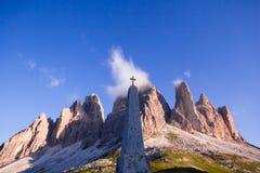 Monumento en tres picos Fotografía de archivo