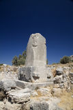 Monumento en Xanthos, Turquía de Lycian Foto de archivo libre de regalías