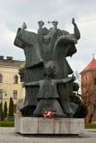 Monumento a esforçar-se e martírio em Bydgoszcz Imagens de Stock Royalty Free