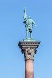 Monumento Estocolmo Suecia Fotografía de archivo libre de regalías