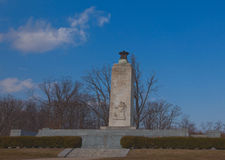 Monumento eterno della luce di pace, Gettysburg, Pensilvania fotografia stock libera da diritti
