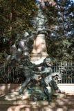 Monumento a Eugene Delacroix Imagen de archivo libre de regalías