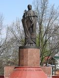 Monumento a Euphrosyne di Polatsk Fotografia Stock