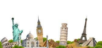 Monumento famoso do mundo Fotos de Stock Royalty Free
