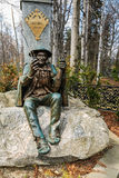 Monumento famoso a Sabala e a Chalbinski Imagem de Stock Royalty Free