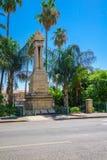 Monumento ferroviario del otomano, Haifa Fotos de archivo