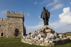 Monumento - fortres de Kaloyanova del hotel fotos de archivo libres de regalías