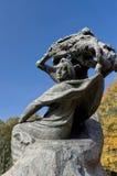 Monumento a Frederic Chopin Imágenes de archivo libres de regalías