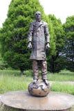 Monumento a Fyodor Dostoyevsky in Baden-Baden, Germania Fotografia Stock