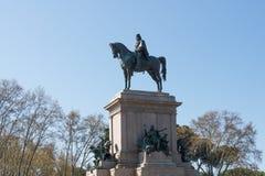 Monumento a Garibaldi Fotos de Stock Royalty Free