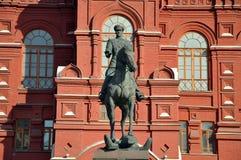 Monumento a George Zhukov Imagens de Stock