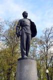 Monumento a giovane Vladimir Lenin Fotografia Stock Libera da Diritti