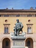 Monumento a Giuseppe Verdi fotografia stock
